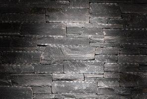 Pikaz zidne obloge Rock Face Flat Black
