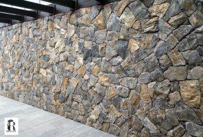 Prikaz zidne obloge Rock Face Akron