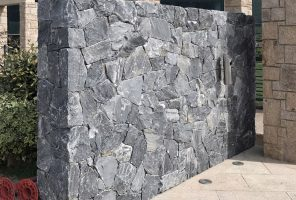 Prikaz zidne obloge Rock Face Evenos Black